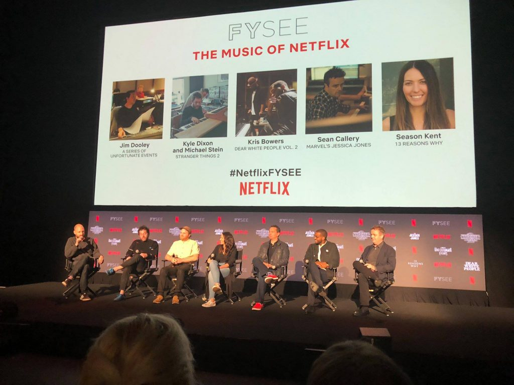 Music of Netflix' FYC Panel - White Bear Public Relations